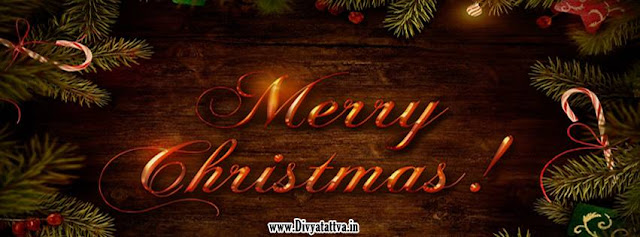 Christmas Balls and Merry Christmas, Christmas Facebook Cover & Profile Cover
