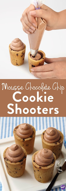 MOUSSE CHOCOLATE CHIP COOKIE SHOOTERS