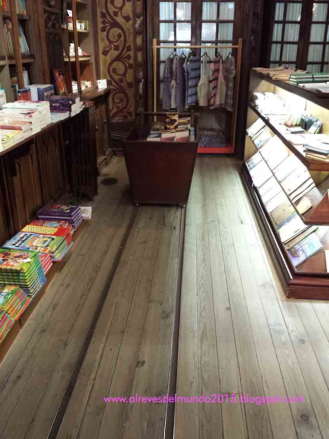 vagon harry potter libreria lello oporto viajes con niños