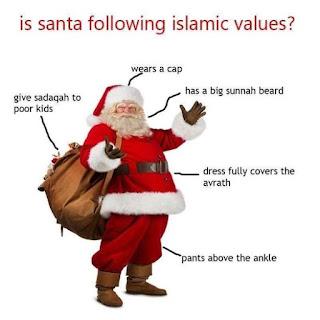 Santa Clause Ternyata Islami