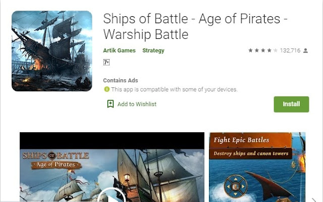 best pirate ship game for android
