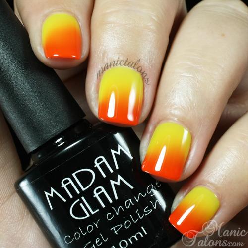 Madam Glam Gel Polish Sunshine