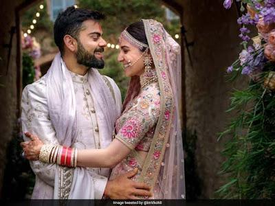 virat kohli marriage pic