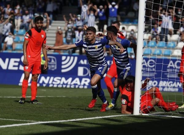 El Málaga tropieza en Ponferrada y acaba siendo goleado (4-0)