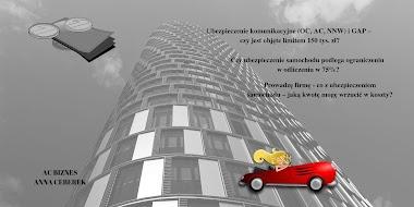 Ubezpieczenie samochodu w firmie - jaką część składki z polisy wrzucę w koszty?