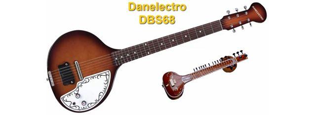 Sitar Eléctrico Danelectro DBS68