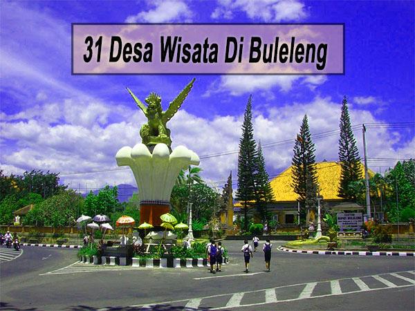 Inilah 31 Desa Wisata Di Kabupaten Buleleng Bali