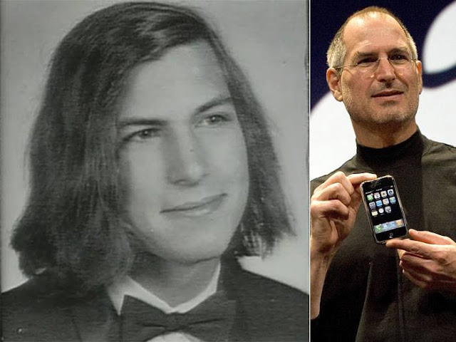 "Nada de óculos, cabelo ralo e gola rolê: pai da Apple era ""nerd"" e cabeludo"