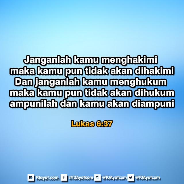 Lukas 6:37