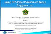 Juknis BOS Pada RA/Madrasah Tahun Anggaran 2021