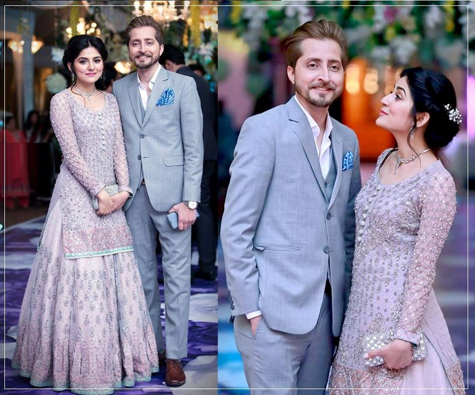 Pak Celeb Pic's: Sanam Baloch With Her Husband On His