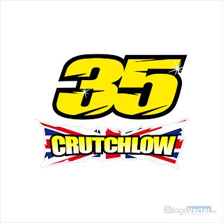 Cal Crutchlow #35 Logo vector (.cdr)