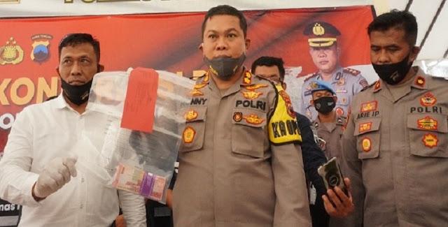 4 Oknum Wartawan Terjaring OTT, Uang Tunai Rp.10 Juta Disita Polisi