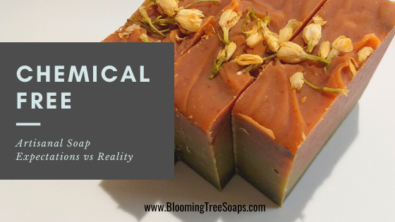 Blog image referring to the nature of artisanal soap and chemical compounds