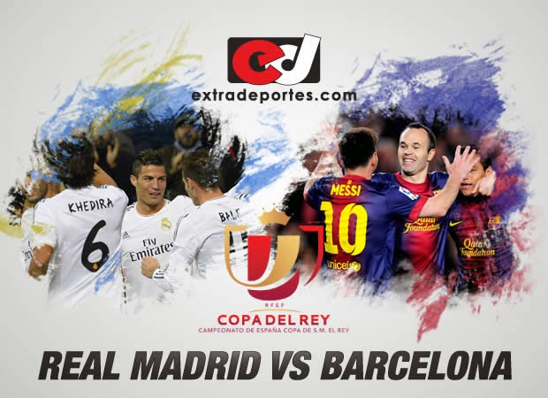 Barcelona vs Real Madrid Final Copa del Rey 2014
