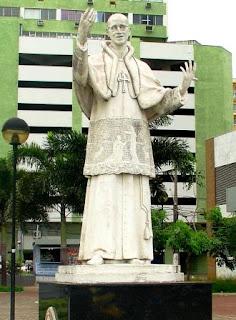 Praça Pio XII, em Vitória