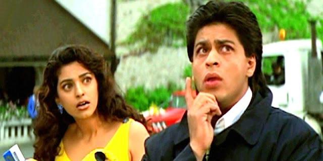 Main Koi Aisa Geet Shahrukh Khan, Juhi Chawla YES BOSS
