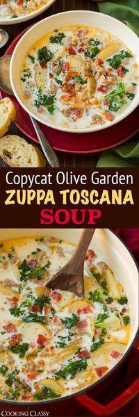 ZUPPA TOSCANA SOUP (OLIVE GARDEN COPYCAT RECIPE)
