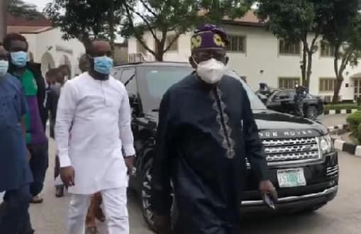 Lekki shooting: I didn't travel out, my son was not kidnapped in France — Tinubu + Video