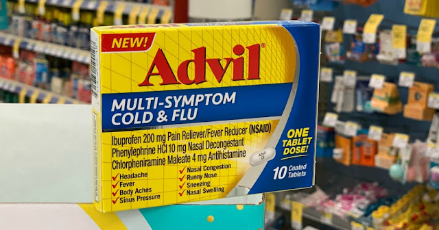 Possible Free Advil Cold & Flu or Robitussin Product