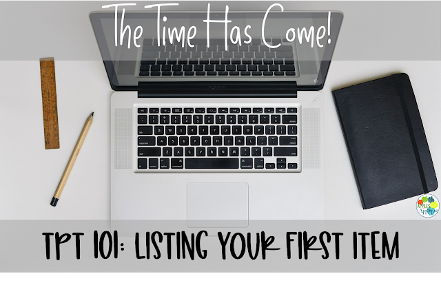 Selling on TPT 101: Listing Your First Item | Apples to Applique