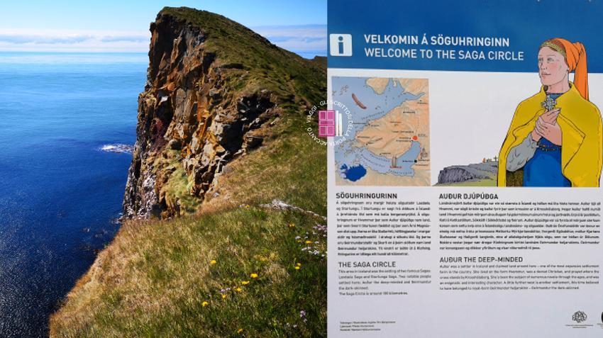 La scogliera di Latrabjarg e l'anello delle saghe