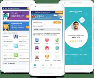 Download Ruang Guru Mod Apk Aplikasi Belajar Online