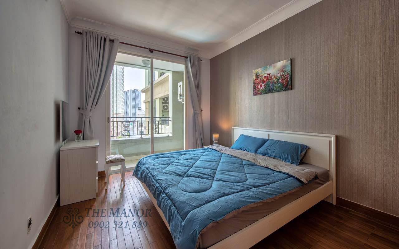 Cho thuê căn hộ chung cư The Manor 2PN - phòng ngủ phụ có cửa sổ