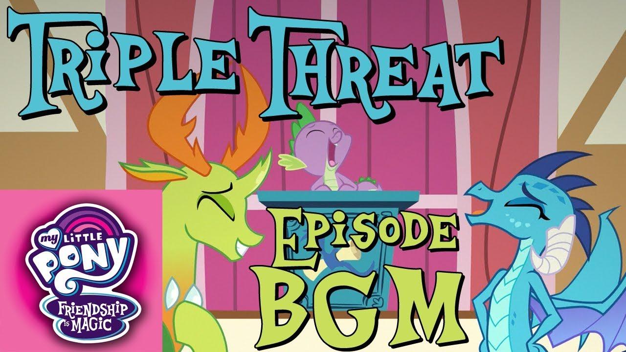 Triple Threat My Little Pony Friendship Is Magic Wiki – Dibujos Para