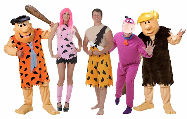 The Flintstones group costume ideas