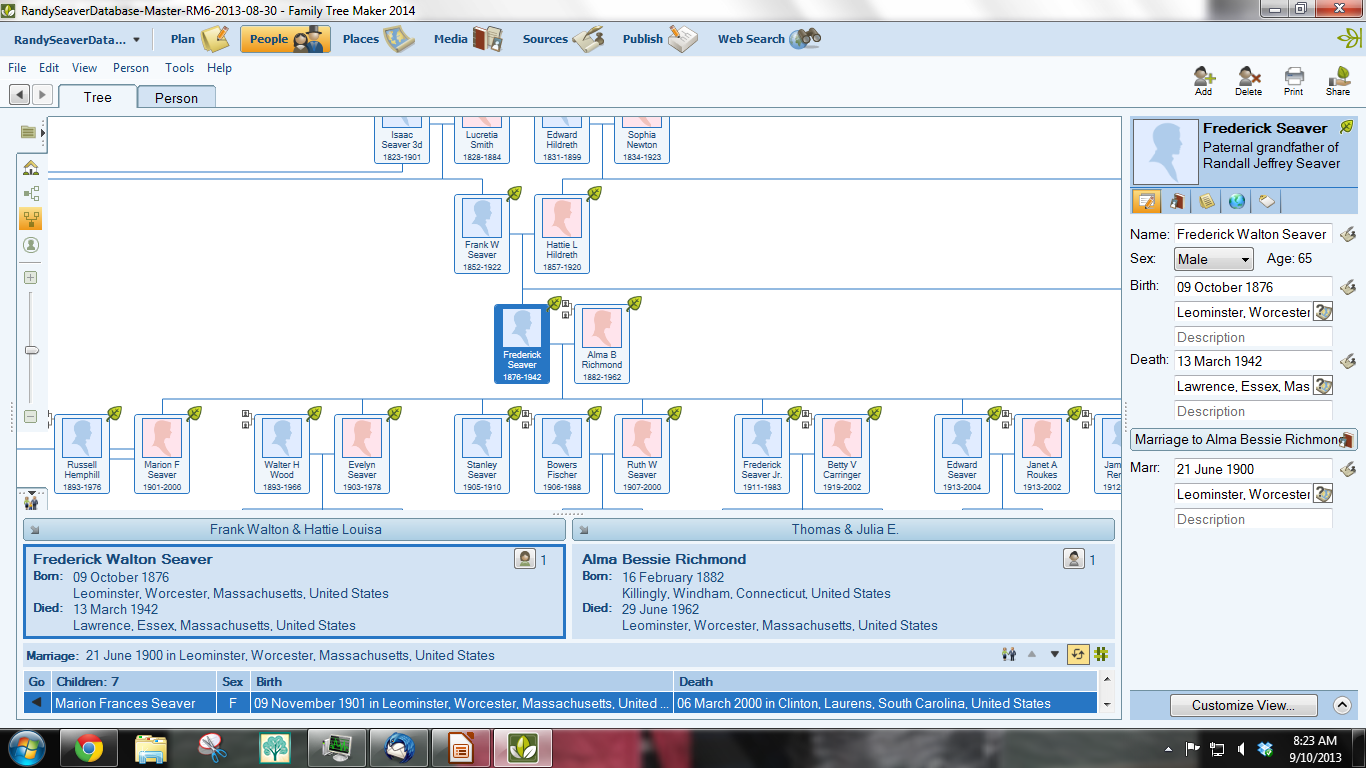 Genea musings first look at family tree maker 2014 post for View maker