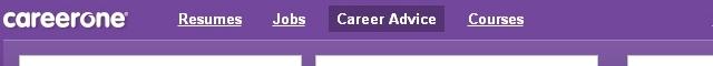 Careerone CV Template