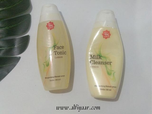 Viva Milk Cleanser and Face Tonic Lemon