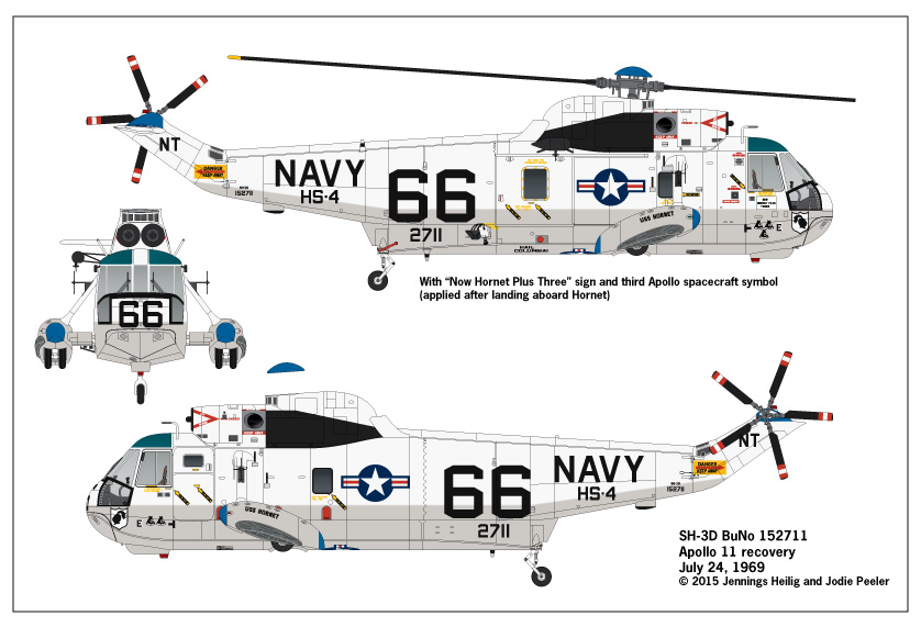 Tailhook Topics: Sikorsky SH-3D BuNo 152711