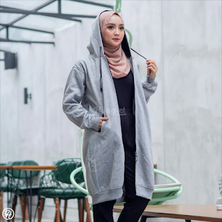 Hijacket Basic GREY X BLACK HJ-13