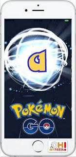 Alabeto del Juego Pokemon Go en Mínúsculas Gratis.