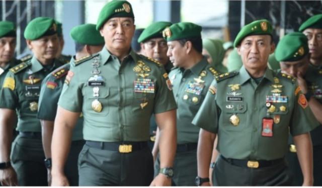 Masyarakat Tambah Gak Percaya, Lha Gimana, TNI Masuk Politik hingga Sekelas KSAD Malah Urus Corona
