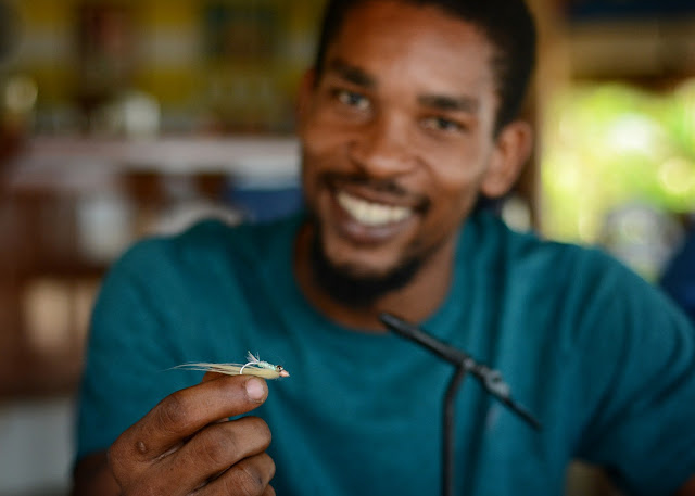 The Southern Belize Fly Tying Initiative - Hopkins Session