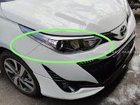 Harga dan Fisik : Lampu Depan Kanan Toyota Yaris 2018 81130-0DF60