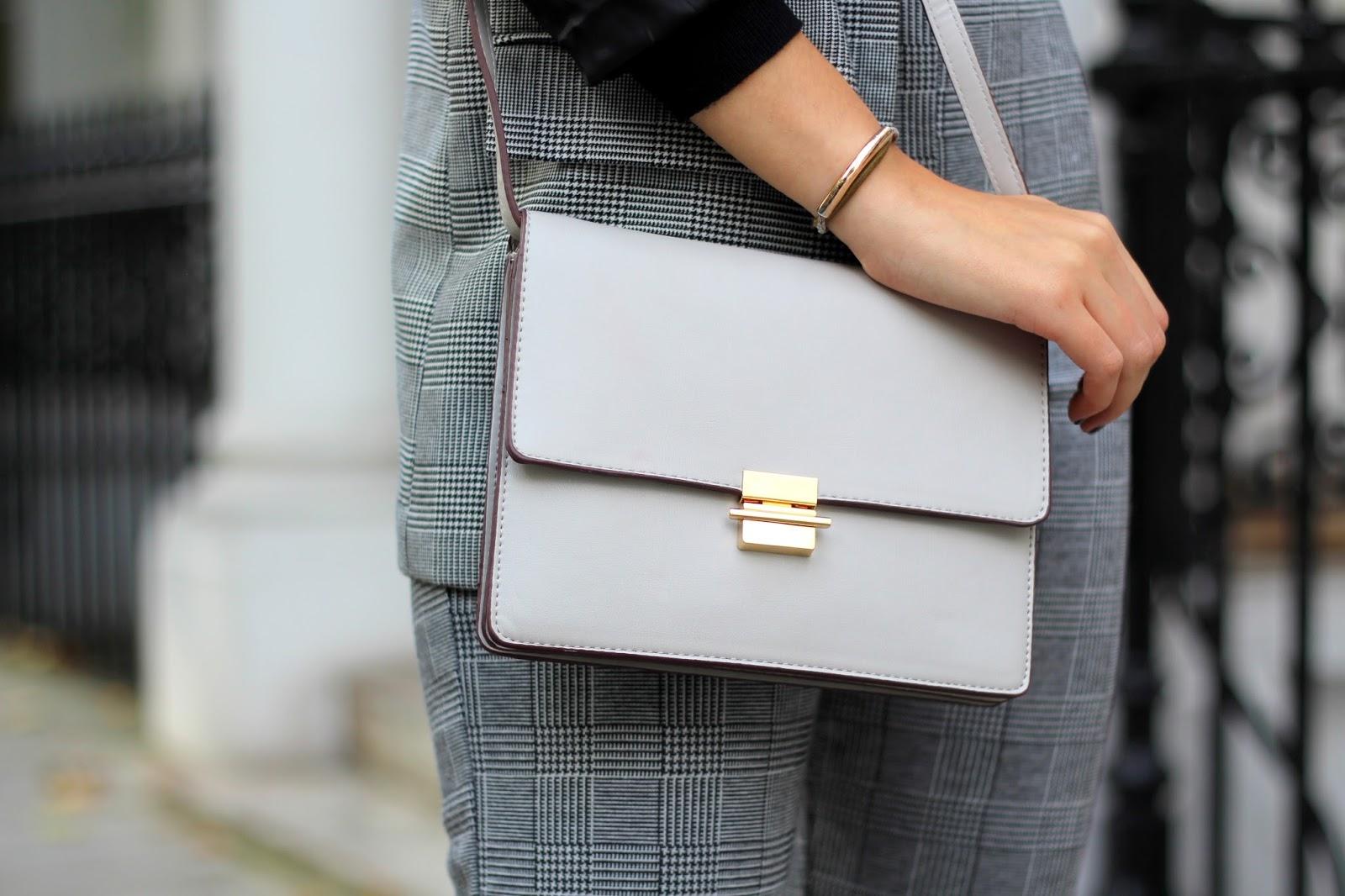 grey bag topshop