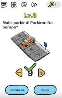 Mobil Parkir Di Parkiran Nomor Berapa Brain Out