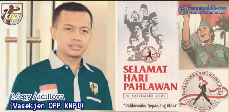 Wasekjen DPP KNPI: Tingkatkan Semangat Juang dan Jiwa Kepahlawanan di Hari Pahlawan