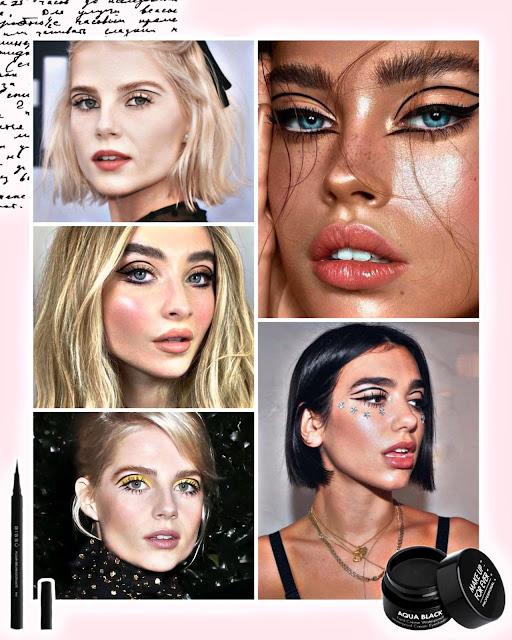 Eyeliner Flotante makeup trend 2020