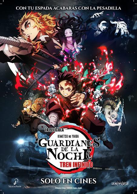 ¡Kimetsu no Yaiba: Infinite Train Arc se estrenará en cines españoles este 23 de abril!