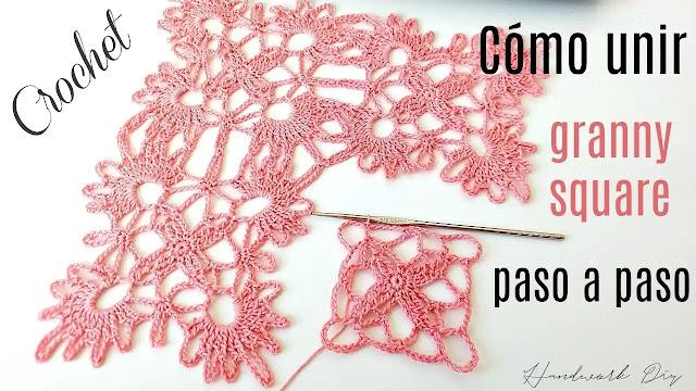 Cómo Tejer Motivos Calados a Crochet y Unirlos