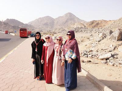kisah jabal tsur dan peristiwa hijrah nabi muhammad saw nurul sufitri travel blogger culinary lifestyle umroh alhijaz indowisata saudi arabia