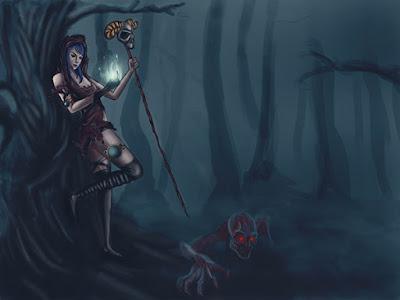 The Witch by Nicolás Fiasche