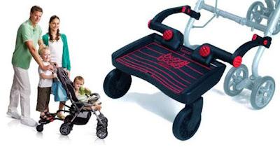 Baby gear semasa cuti dengan anak-anak