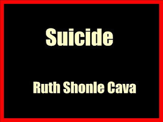 Suicide (1937) by Ruth Shonle Cava