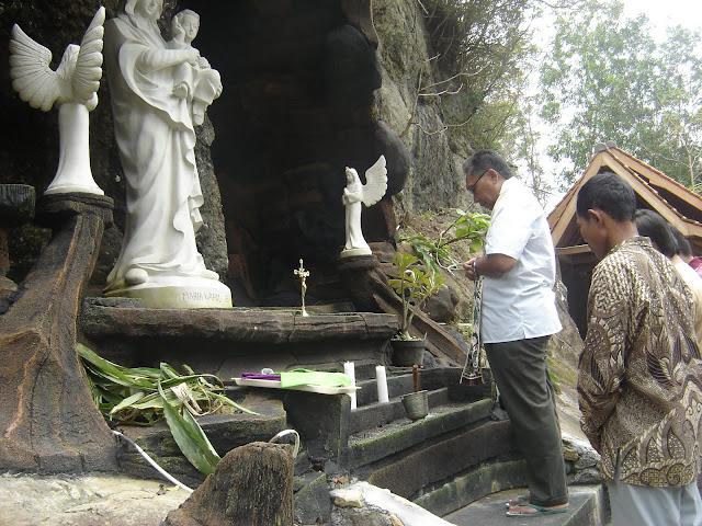 Taman Maria Giri Wening Sengonkerep Terus Berbenah
